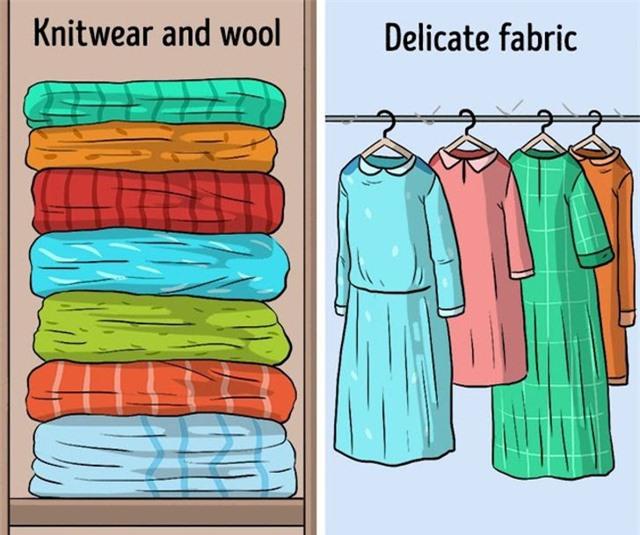 9 sai lầm hầu như ai cũng mắc phải khi cất giữ quần áo - Ảnh 7.