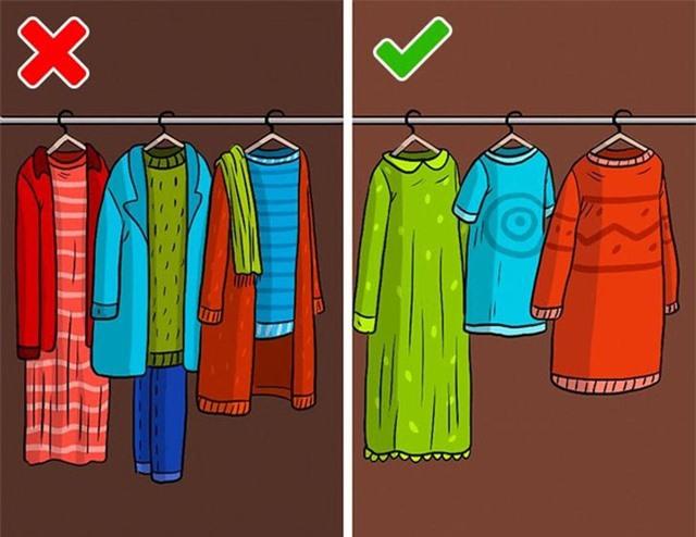 9 sai lầm hầu như ai cũng mắc phải khi cất giữ quần áo - Ảnh 8.