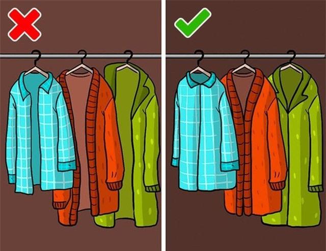 9 sai lầm hầu như ai cũng mắc phải khi cất giữ quần áo - Ảnh 9.