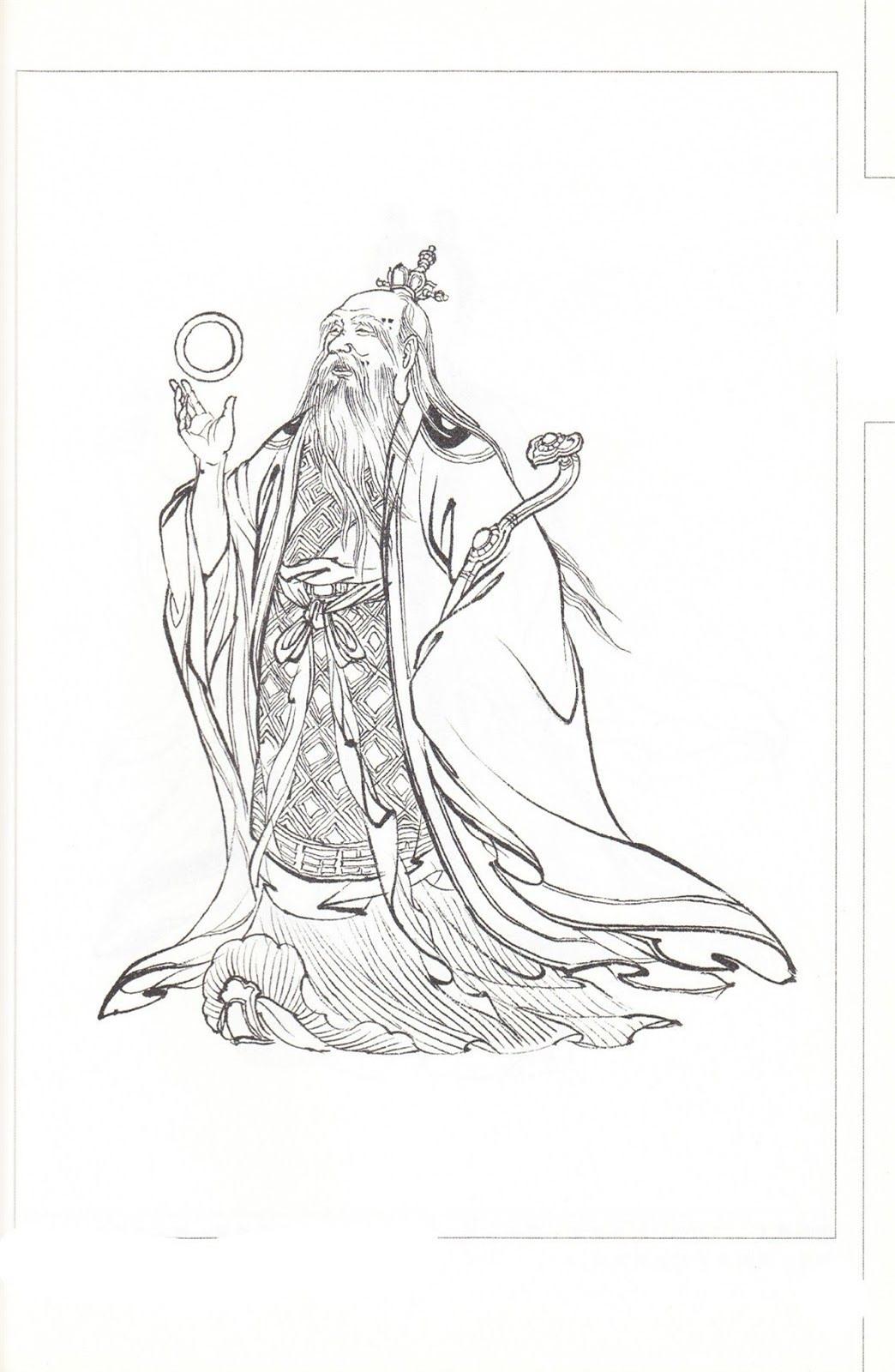 Hồng Quân Lão Tổ và ba đại đệ tử trong thần thoại Trung Hoa thật ra là những ai? - Ảnh 3.