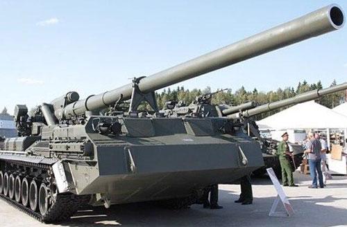 Nga khôi phục hệ thống pháo siêu vượt âm hạt nhân 2S7M Malka