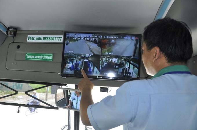 Việc lắp đặt camera trong xe chở khách sẽ trở thành điều kiện bắt buộc