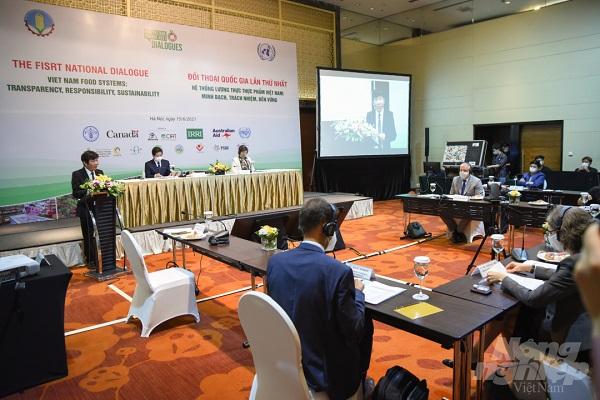 Đối thoại quốc gia lần thứ nhất về Hệ thống lương thực thực phẩm Việt Nam được tổ chức theo hình thức trực tiếp và trực tuyến.