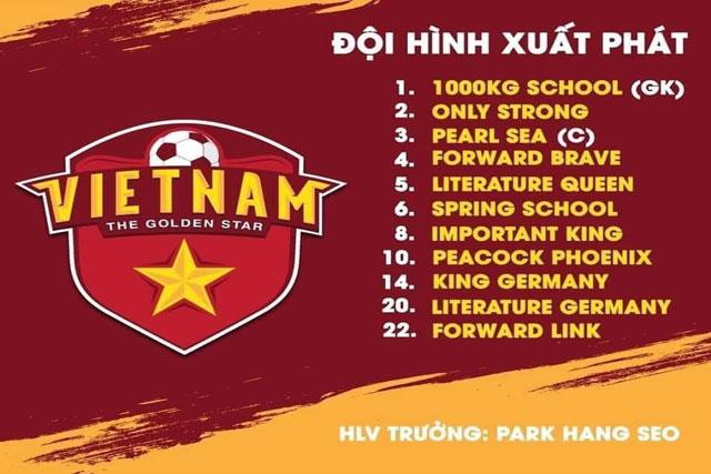 Cộng đồng mạng dịch tên sao tuyển Việt Nam sang tiếng Anh cho fan quốc tế, chỉ nhìn thôi đã không nhịn được cười