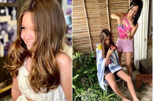 Con gái Hồng Nhung xinh nhưng ai cũng xuýt xoa mẹ U51 bên cạnh đẹp như búp bê Barbie