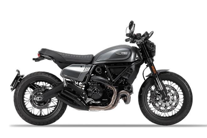 3. Ducati Scrambler Nightshift và Desert Sled.