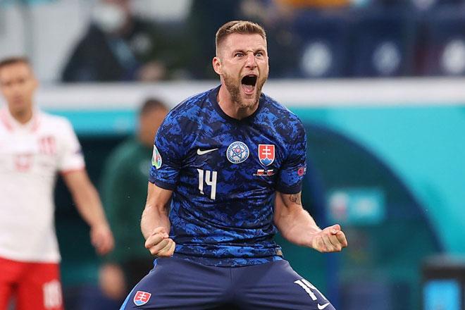 Trung vệ: Milan Skriniar (Slovakia).
