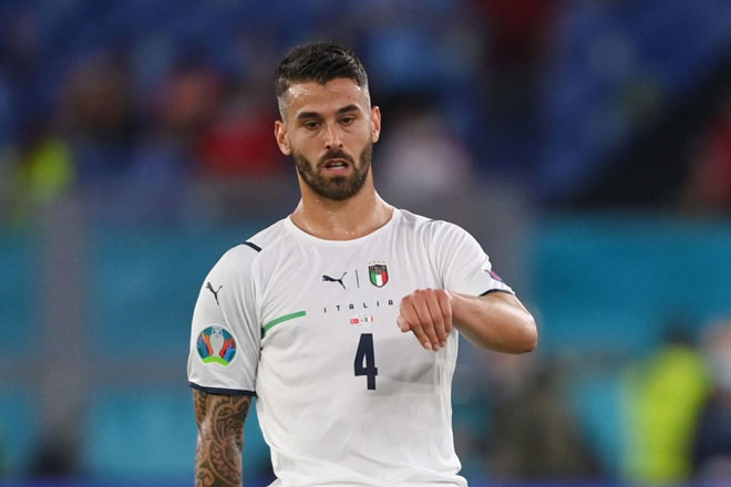 Hậu vệ trái: Leonardo Spinazzola (Italia).