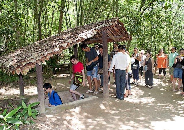 Khu di tích lịch sử địa đạo Củ Chi được đề xuất miễn phí vé cho khách tham quan.