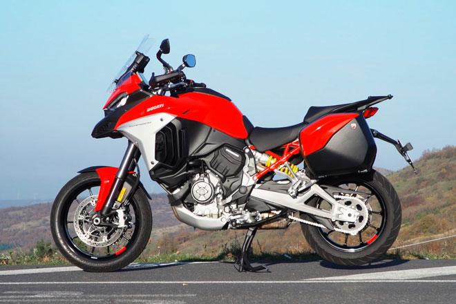 6. Ducati Multistrada V4, V4 S và V4 S Sport.