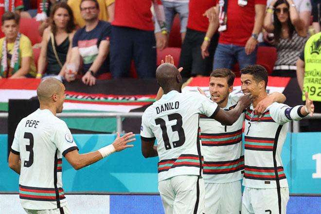 Kết quả, BXH EURO 2020 đêm 15, rạng sáng 16/6: Bồ Đào Nha, Pháp 'ca khúc khải hoàn'