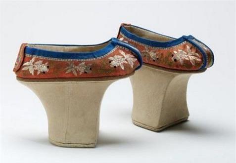Cao từ 5-15cm, những đôi hài của phi tần nhà Thanh được dùng để làm gì? - Ảnh 3.