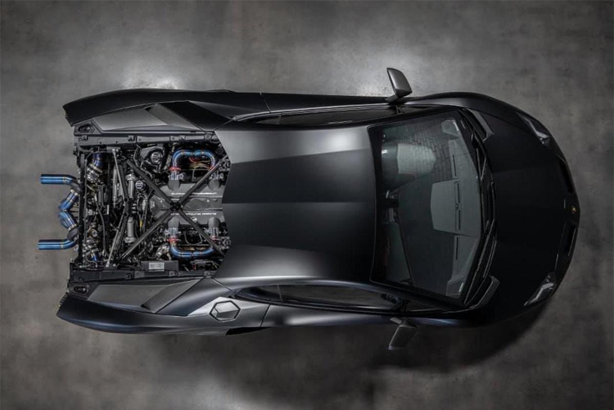 Lamborghini Aventador SVJ. Ảnh: Carbuzz