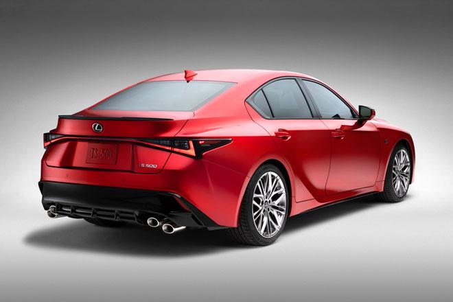 1. Lexus IS 500 F Sport Performance.