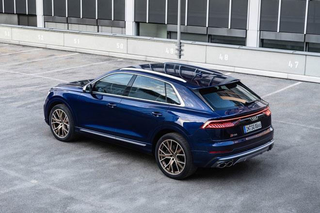 10. Audi SQ7 và SQ8 TFSI.