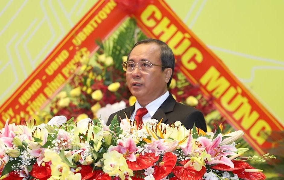 Ông Trần Văn Nam, Bí thư Tỉnh uỷ Bình Dương.