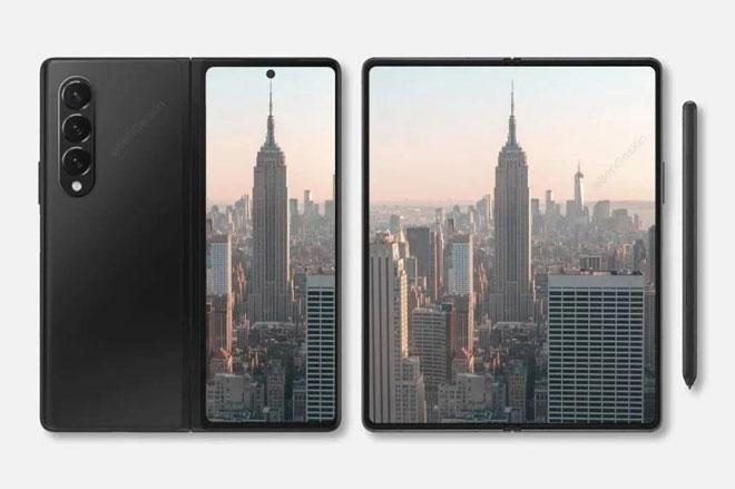 Samsung Galaxy Z Fold 3 sẽ dùng camera ẩn dưới màn hình, có bút S Pen