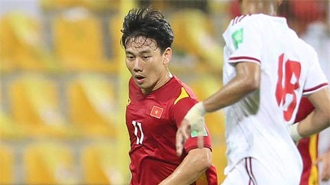 Những siêu dự bị bước ra ánh sáng của đội tuyển Việt Nam
