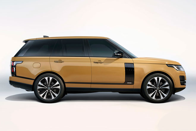 8. Range Rover Fifty Limited Edition.