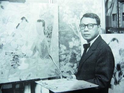 Vào giữa năm 2019, bức tranh Khỏa thân của họa sĩ Lê Phổ từng được bán thành công với giá lên tới 1,4 triệu USD ở Hong Kong. Đây là bức tranh có giá cao nhất từng được bán công khai do một họa sĩ người Việt sáng tác. Ảnh: Wikipedia.