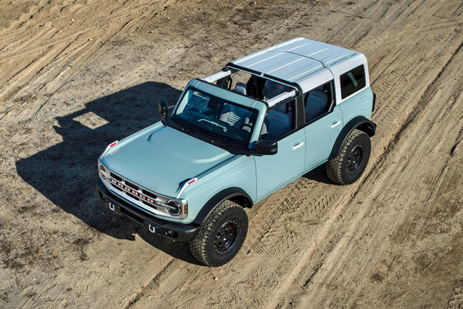10. Ford Bronco 2021.
