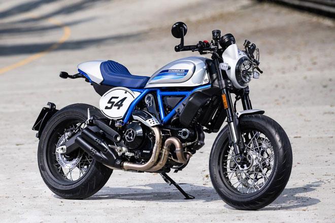 2. Ducati Scrambler Cafe Racer (giá: 7.925-10.000 USD).