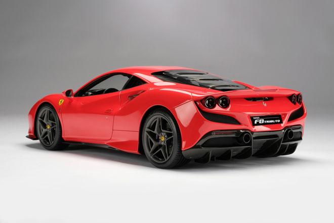 2. Ferrari F8 Tributo.