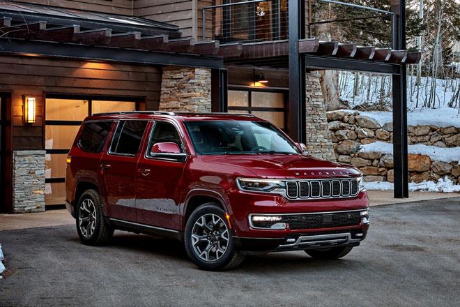 3. Jeep Wagoneer và Grand Wagoneer 2022.