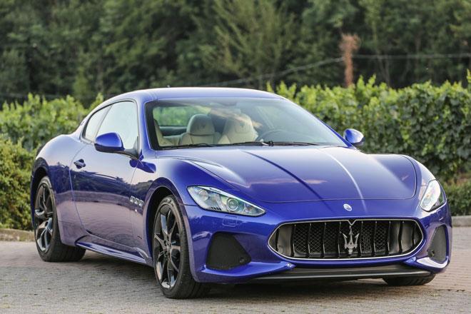 3. Maserati GranTurismo.