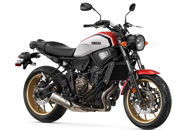 4. Yamaha XSR700 (giá: 8.499 USD).