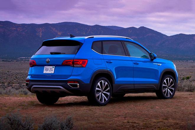 6. Volkswagen Taos 2022.