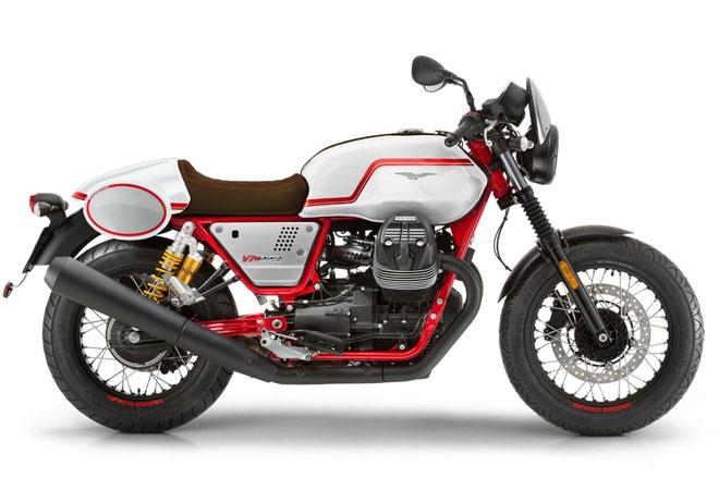 6. Moto Guzzi V7 III Racer LE (giá: 8.240-9.990 USD).
