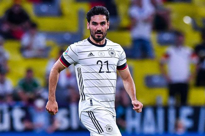 Tiền vệ trung tâm: Ilkay Gundogan (Đức).