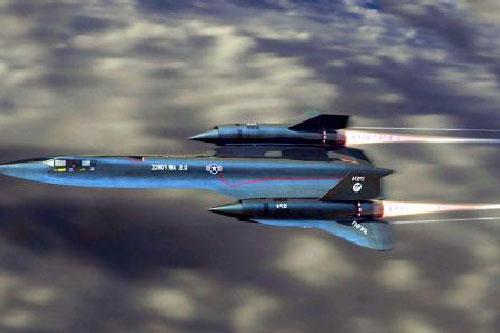 Mỹ khoe 4.000 tên lửa bắn không trúng SR-71