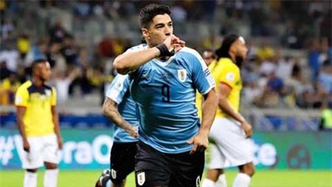 Argentina vs Uruguay: Luis Suarez, cháy lên lần cuối