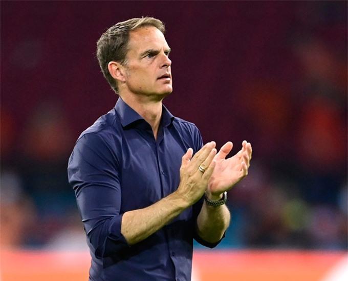 De Boer tỏ ra cao tay hơn ở trận Hà Lan vs Áo
