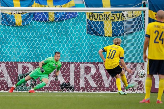 Forsberg ghi bàn duy nhất của trận đấu