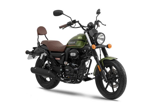 Ngắm môtô cỡ nhỏ dùng động cơ 125 phân khối, giá hơn 65 triệu đồng