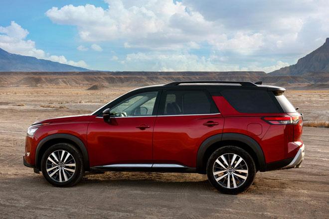 5. Nissan Pathfinder 2022.