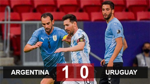 Kết quả Argentina vs Uruguay: Messi lại tỏa sáng, Argentina có 3 điểm đầu tiên