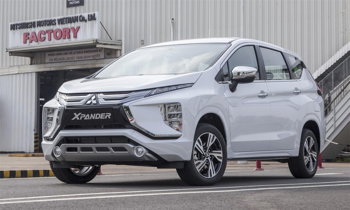 Mitsubishi Xpander áp đảo thị phần MPV tại Việt Nam.