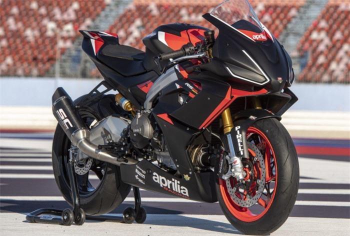 Mô tô thể thao Aprilia RS660 ra mắt phiên bản đường đua, giá 411 triệu đồng 4