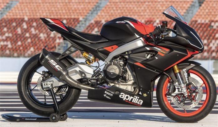 Mô tô thể thao Aprilia RS660 ra mắt phiên bản đường đua, giá 411 triệu đồng 5