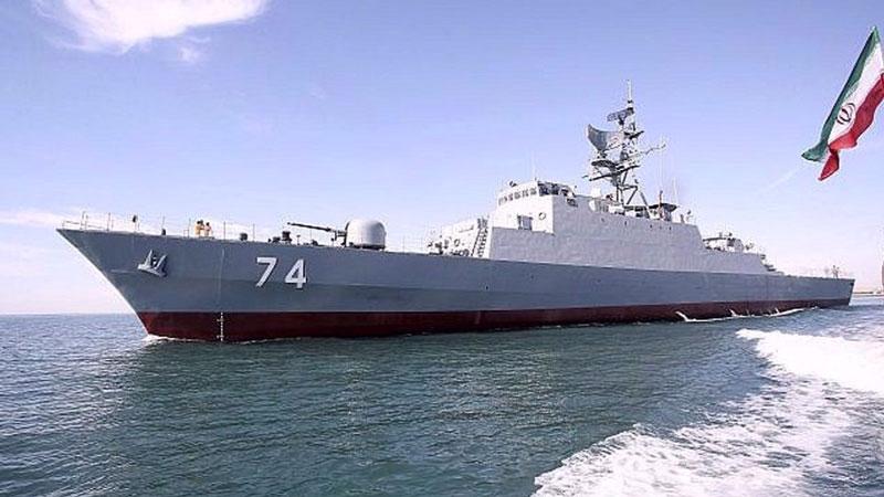 Tàu chiến Iran.