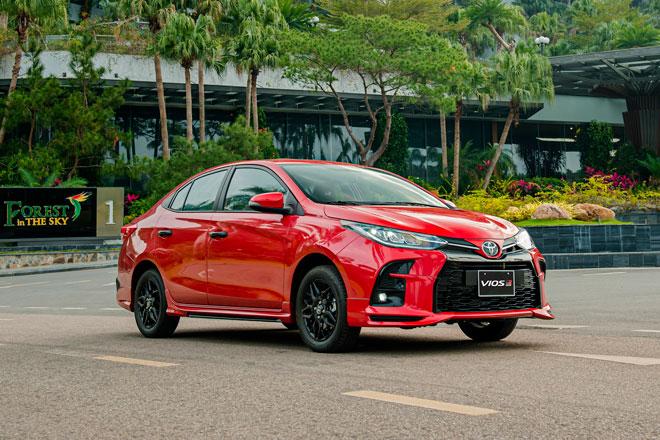 Toyota Vios GR-S. Ảnh: TMV.