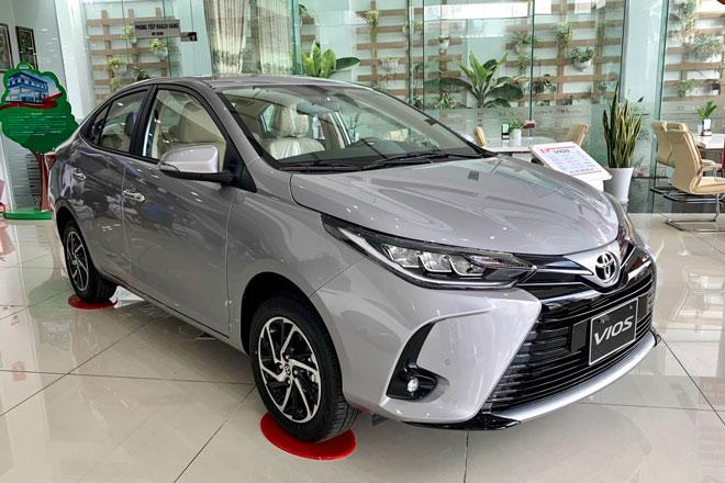 Toyota Vios 2021. Ảnh: Toyota An Sương.