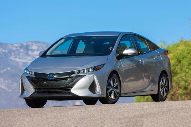 3. Toyota Prius Prime 2021 (giá khởi điểm: 29.215 USD).