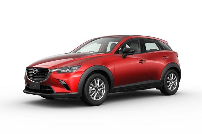 =2. Mazda CX-3 2021 (điểm an toàn: 9,8/10).