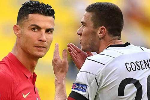 Gosens: 'Lần này, tôi không thèm đổi áo với Ronaldo'