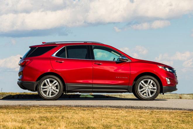 =5. Chevrolet Equinox 2021 (điểm an toàn: 9,7/10).